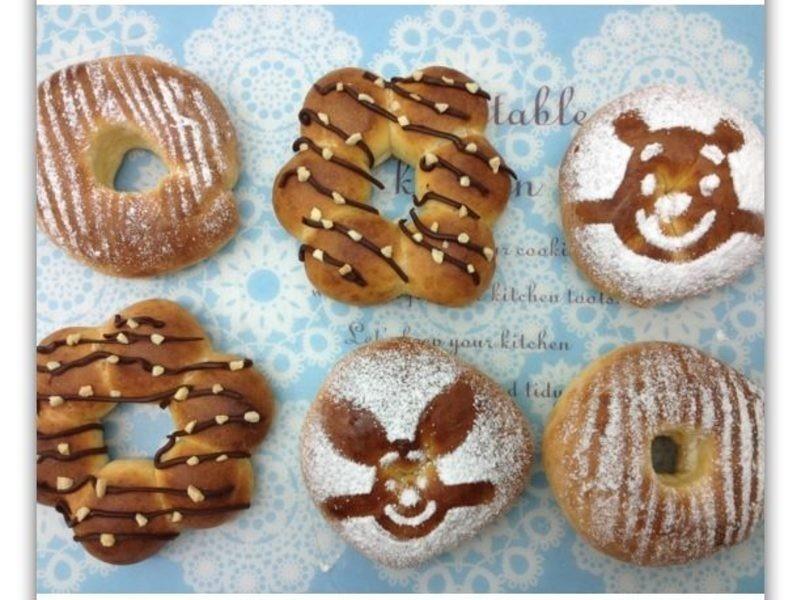 [Witi✿Kitchen](麵包機-麵包)烤甜甜圈