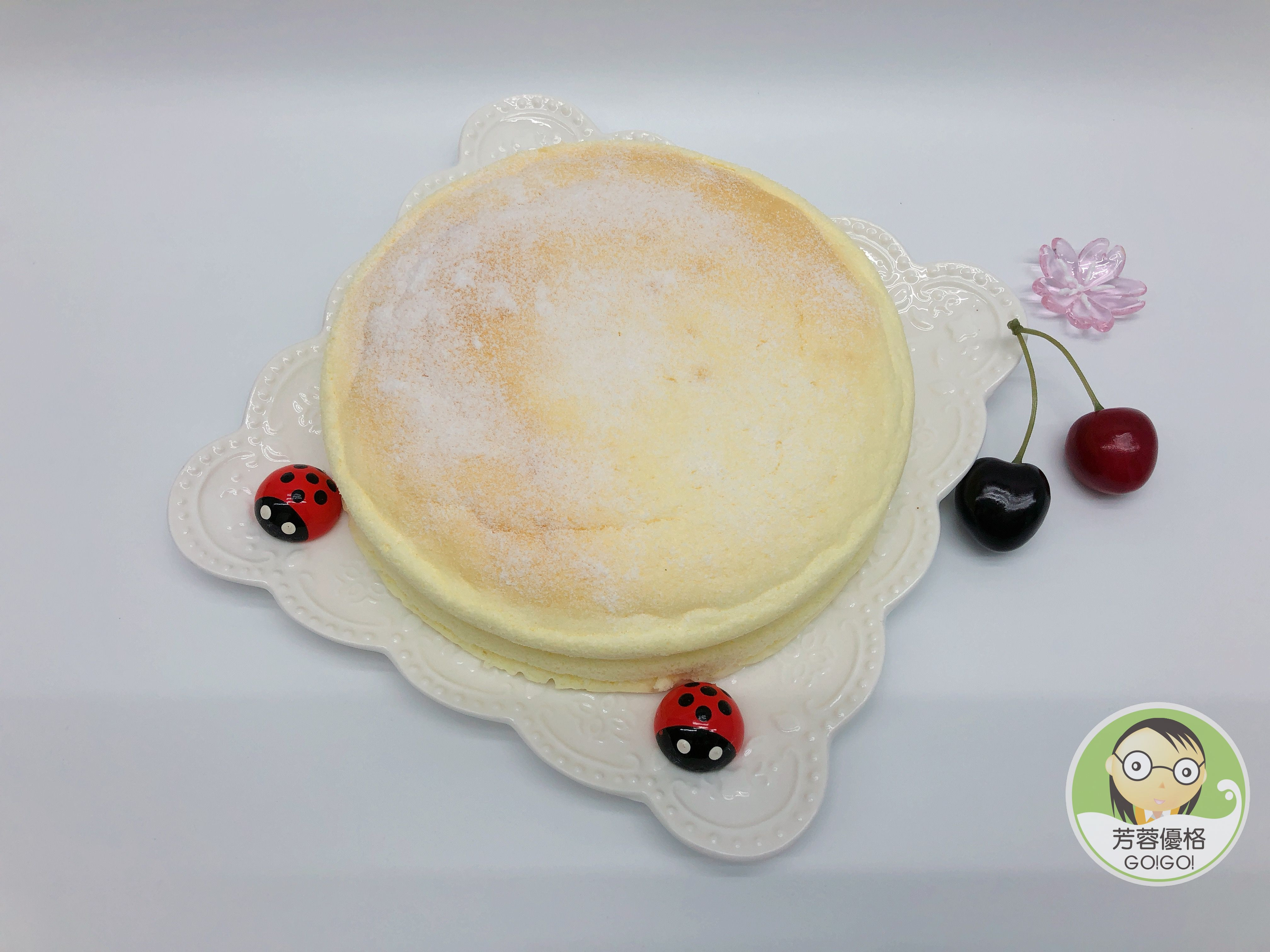 優格輕乳酪蛋糕