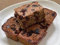 無麩質香蕉莓果巧克力蛋糕(無油高蛋白)