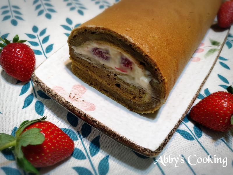抹茶天使蛋糕卷