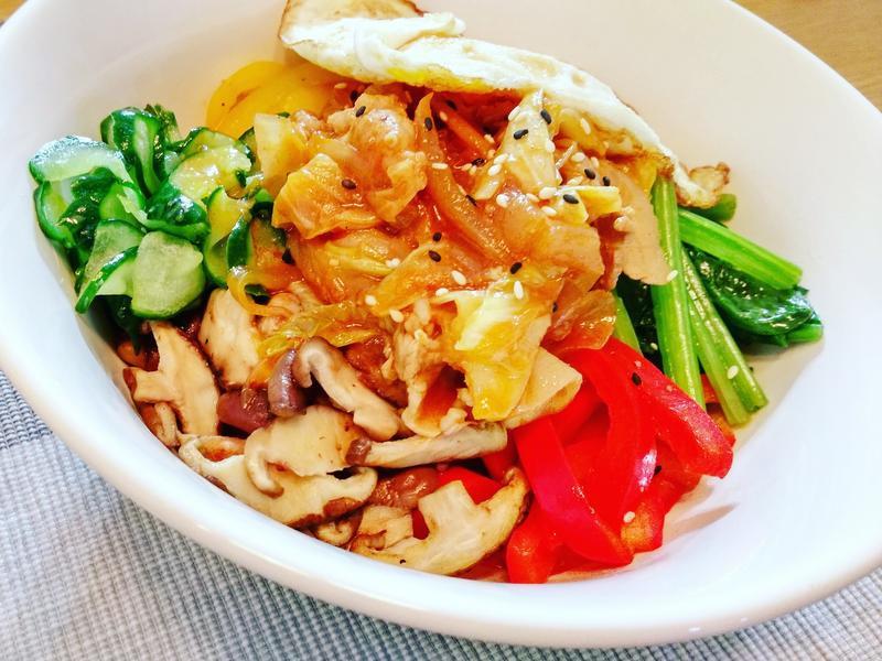 韓式豬肉拌飯