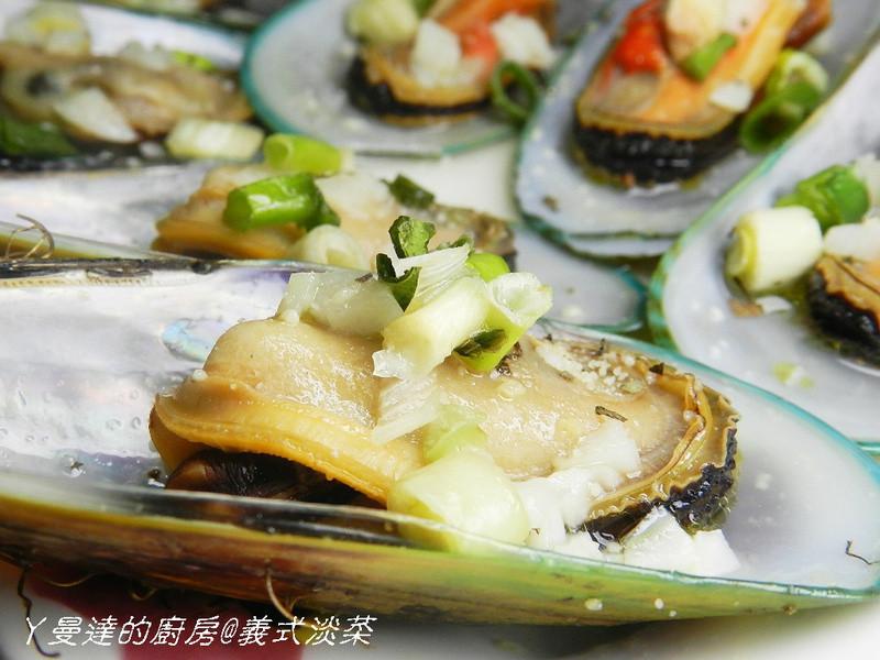 ㄚ曼達的廚房~【大同電鍋料理】義式淡菜