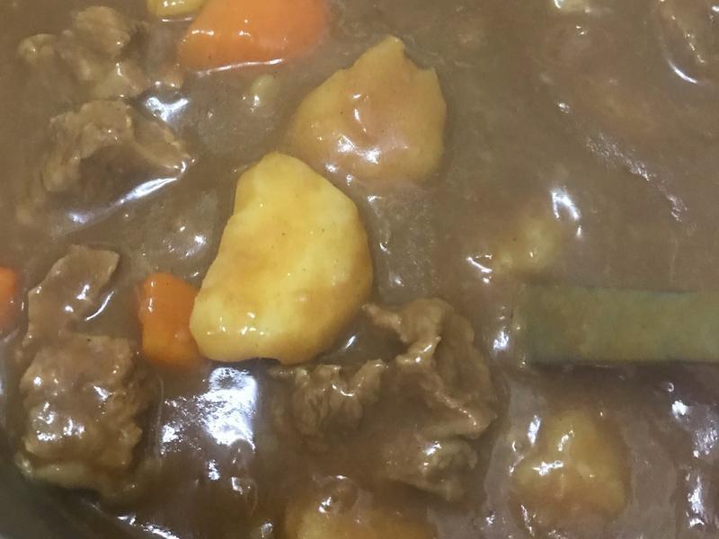 超簡單咖喱牛肉