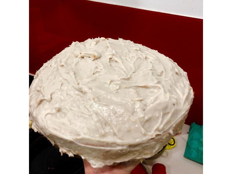 無敵綿密『芋泥蛋糕』的海綿蛋糕體