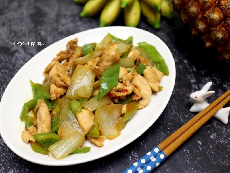 香辣青椒炒雞肉(快炒)