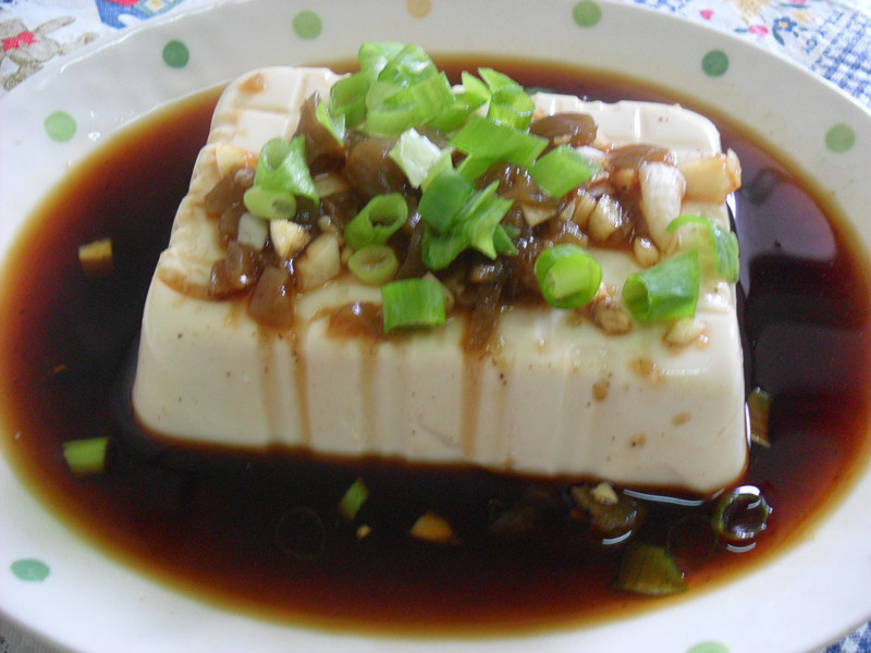 Y芬的小廚房--「梅膏料理」之梅汁涼拌豆腐