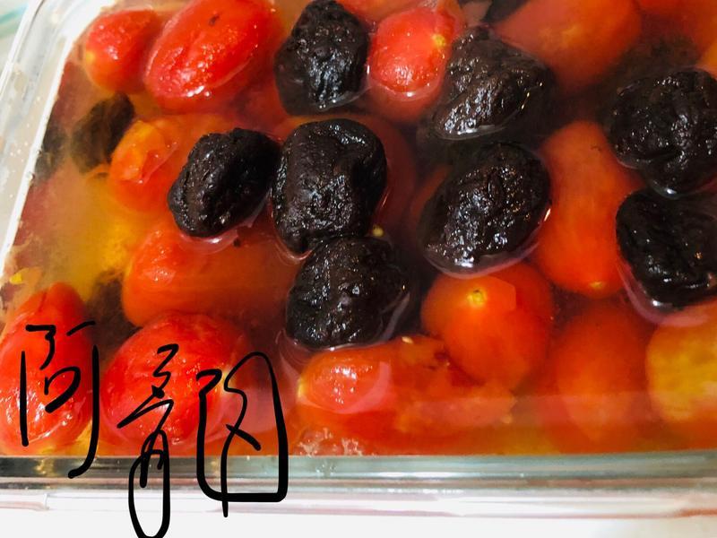 開胃梅漬去皮番茄