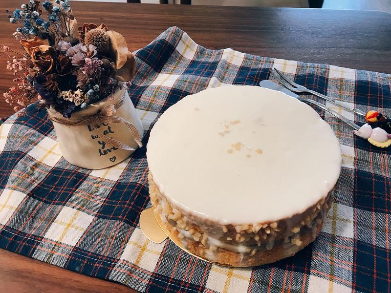 白巧克力芋泥蛋糕🍰(白色情人節)