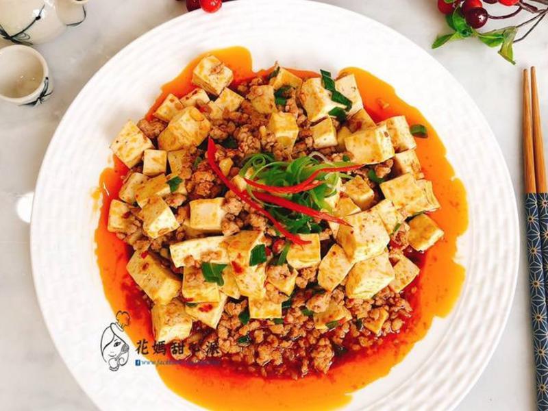 麻婆豆腐(下飯川味料理)