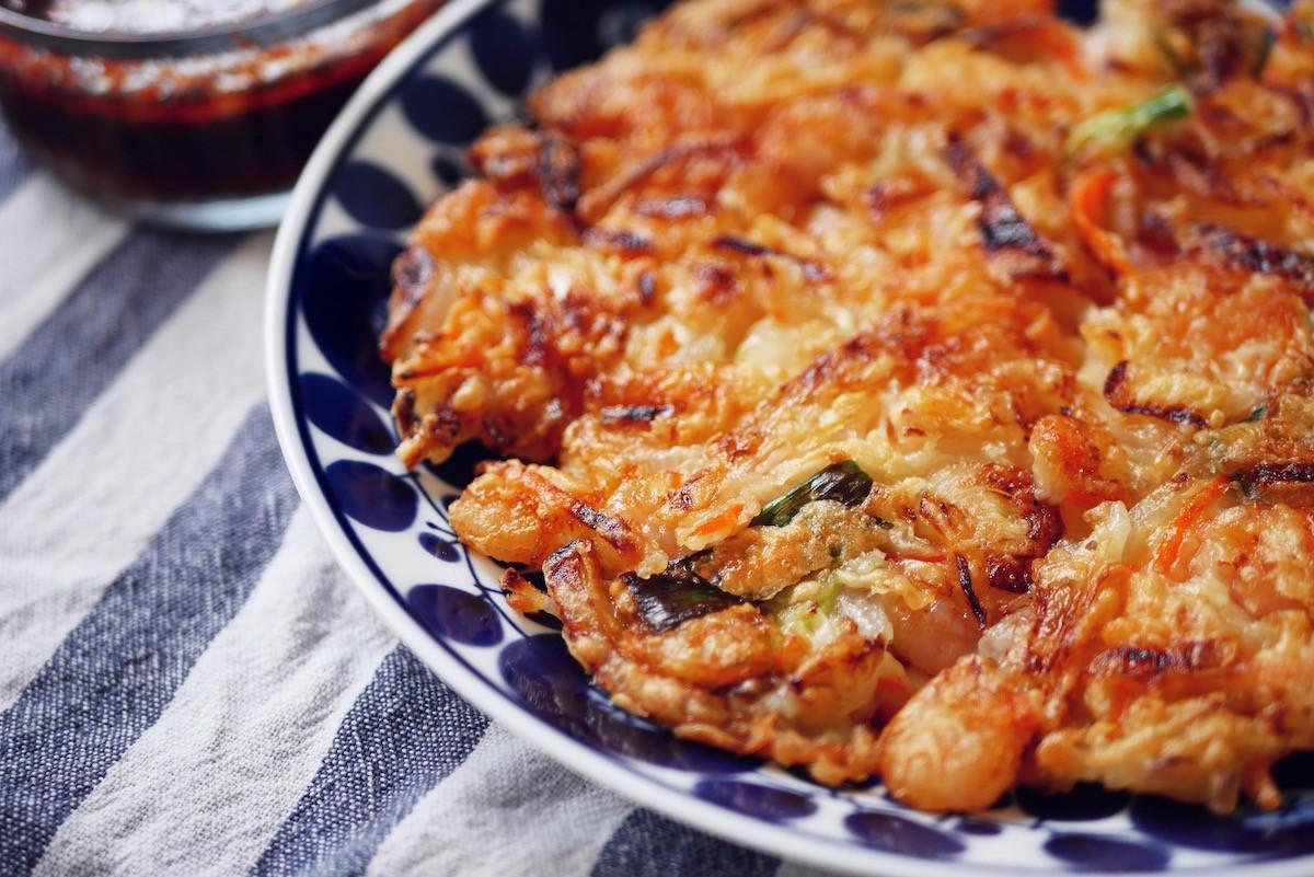 韓式海鮮煎餅, 預拌粉 OUT