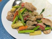 辣炒泰式豬肉片(家常菜)