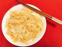味噌蒜味菜菜拌麵