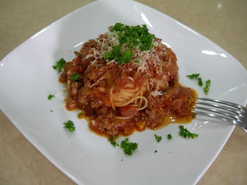 我家的義大利肉醬麵