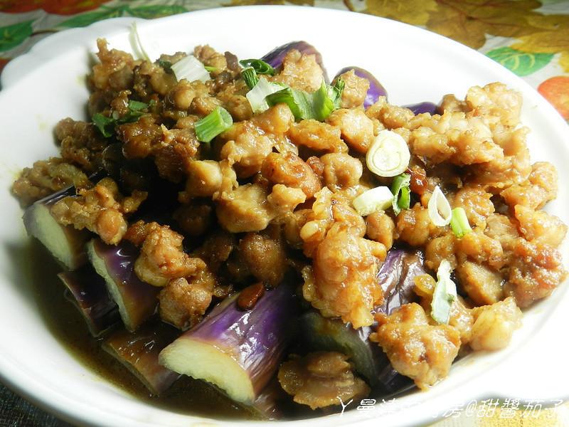 ㄚ曼達的廚房~健康黃金玄米油料理~甜醬茄子