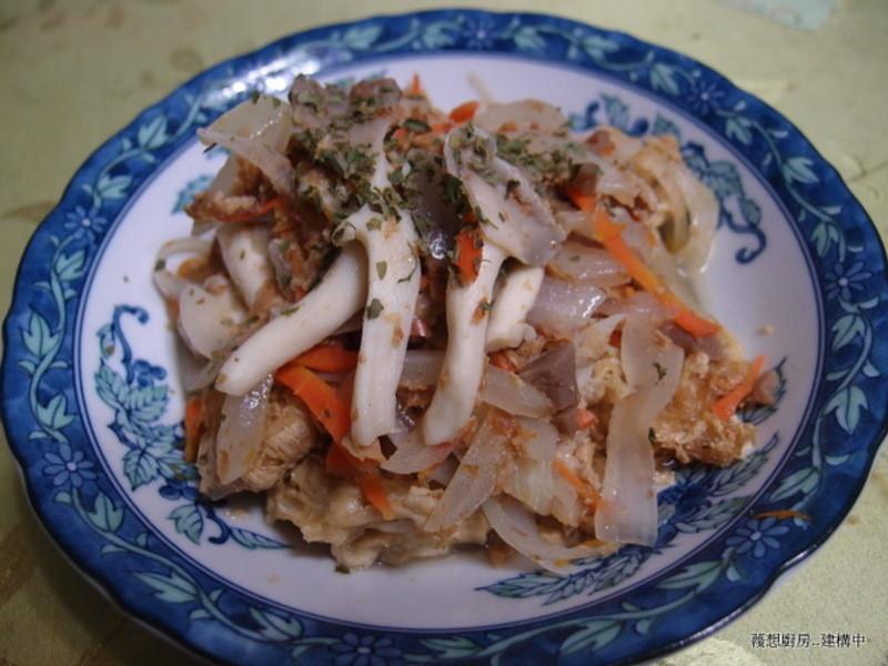 鮮菇燴豆包