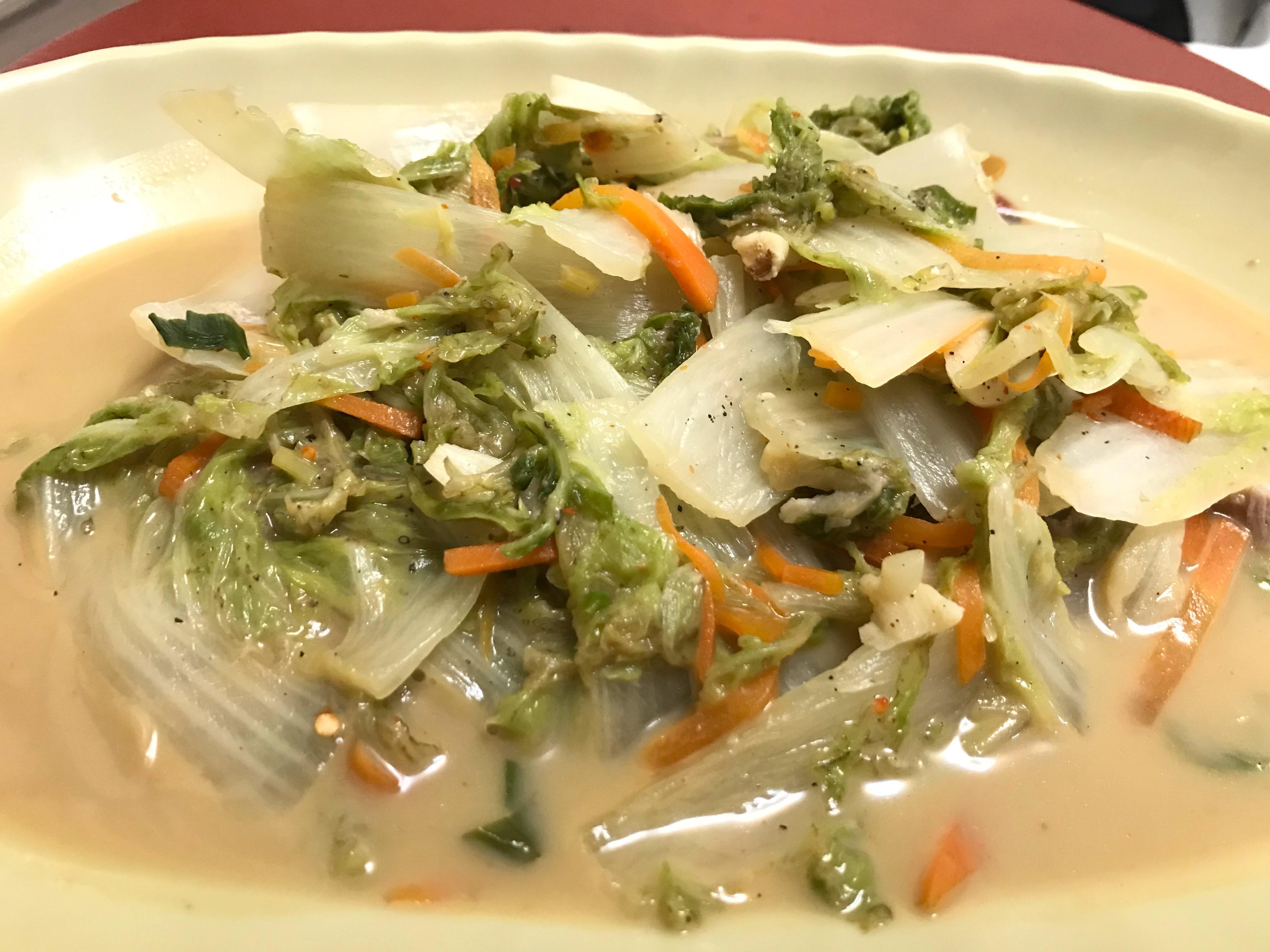 👩🏻🍳豆乳大白菜-簡易快速好吃