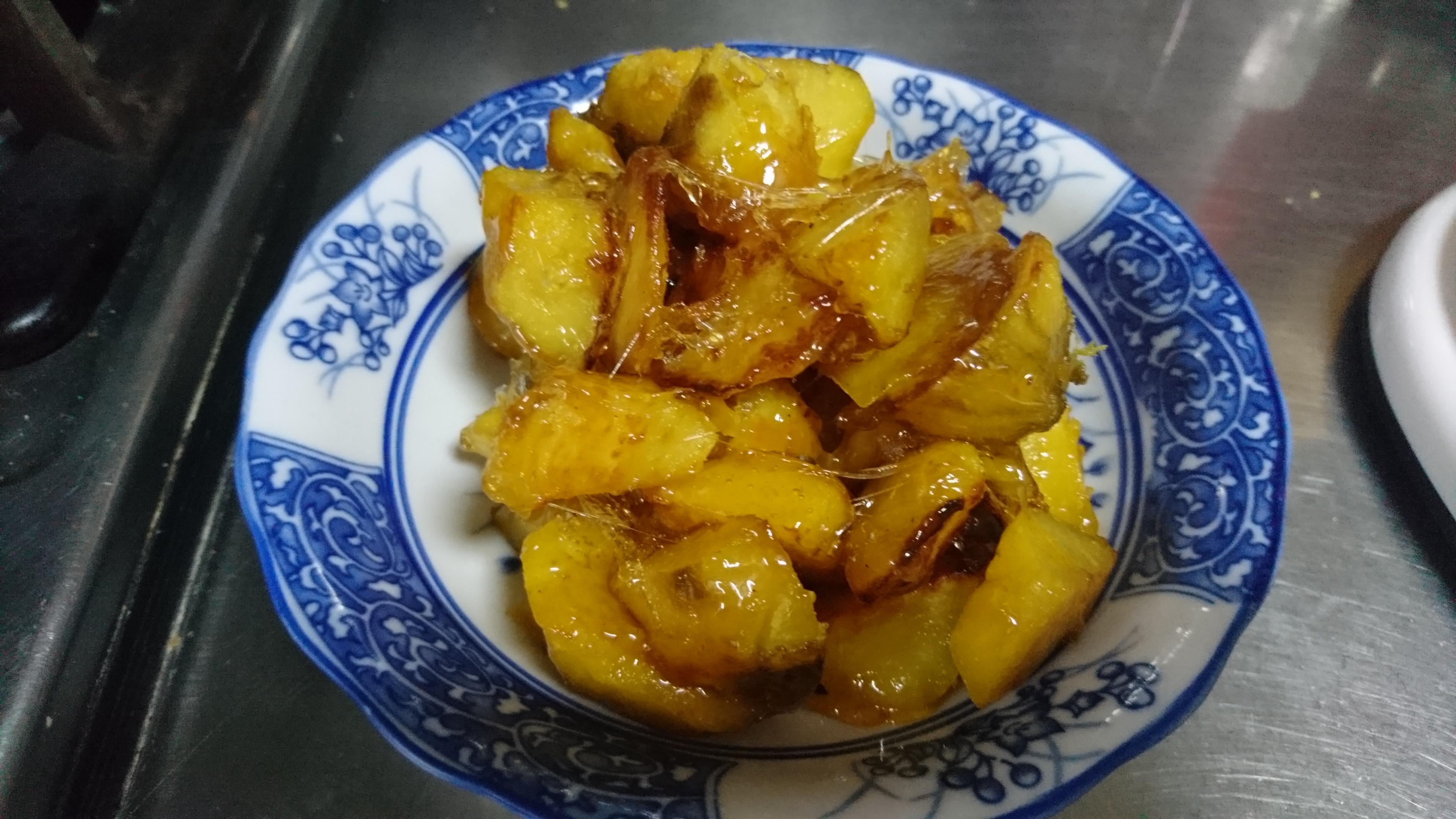 檸檬拔絲地瓜(免油炸)