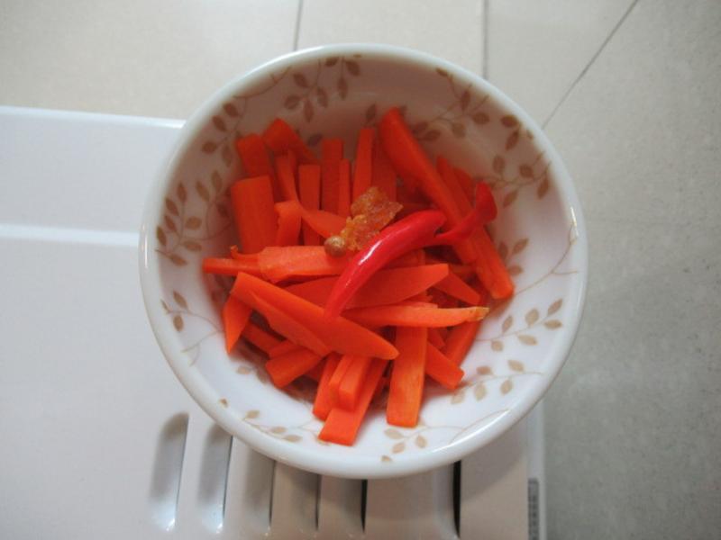 醋煮紅蘿蔔