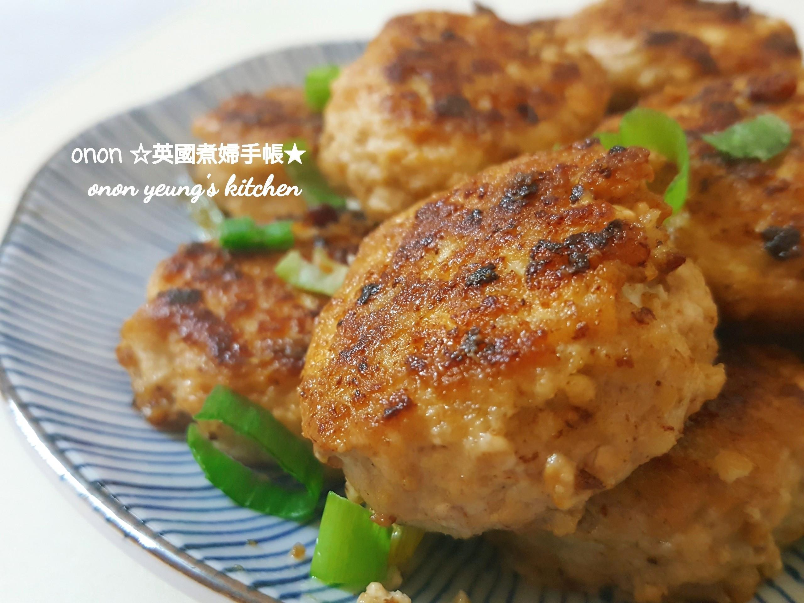 照燒酢汁豆腐煎餅 日式。簡易家常菜。晚餐