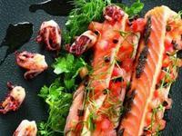 侯布雄法式烤鮭魚佐橄欖醬