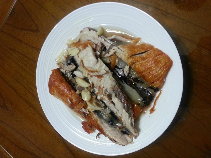 半煎煮魚肚