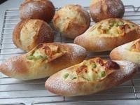 毛豆起士麵包