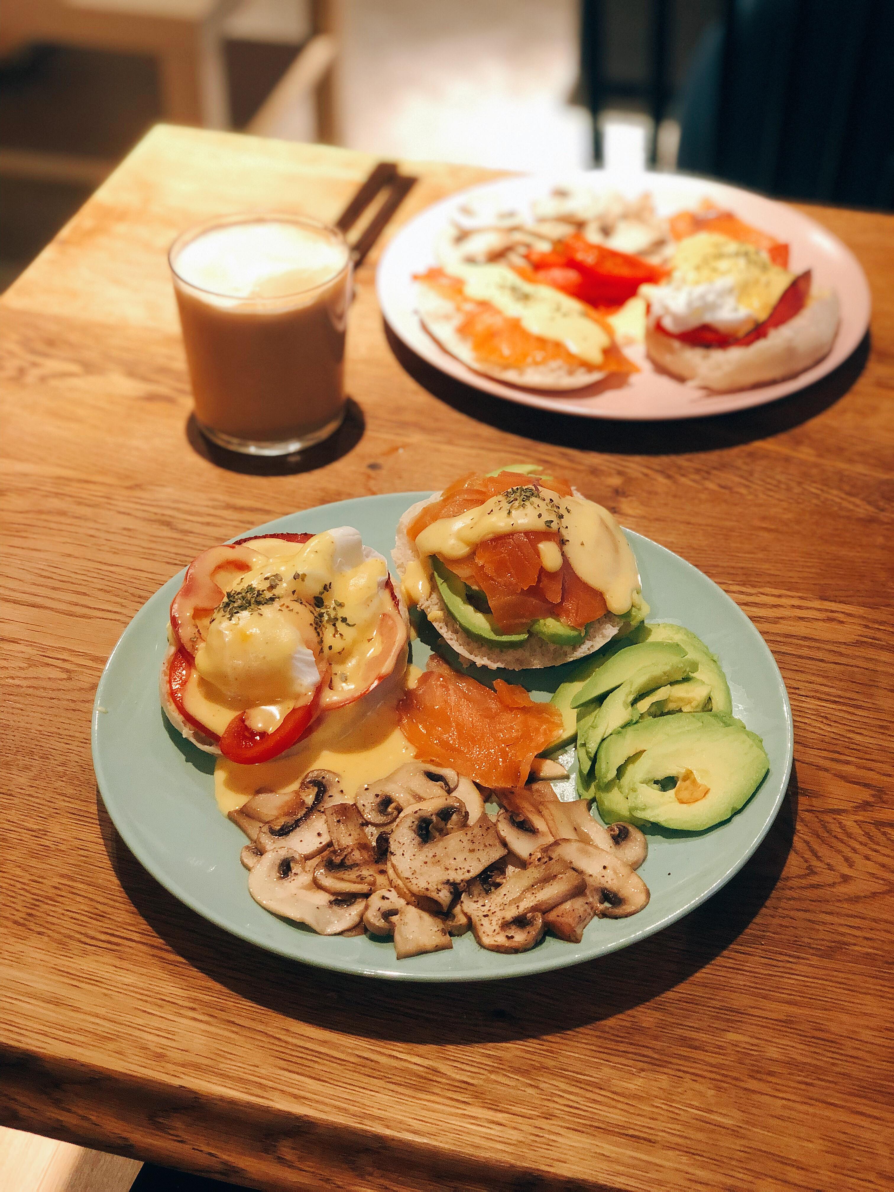 完美早餐『班乃迪克蛋』