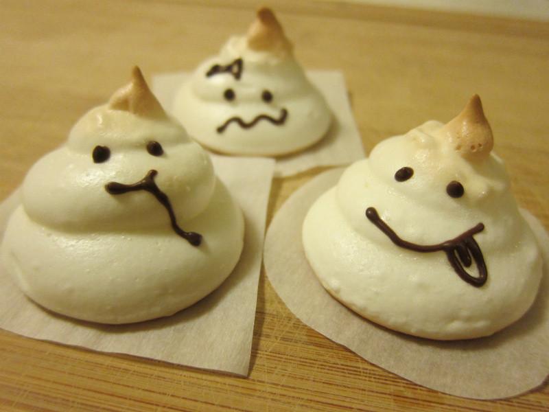 萬聖節Ghost蛋白糖霜