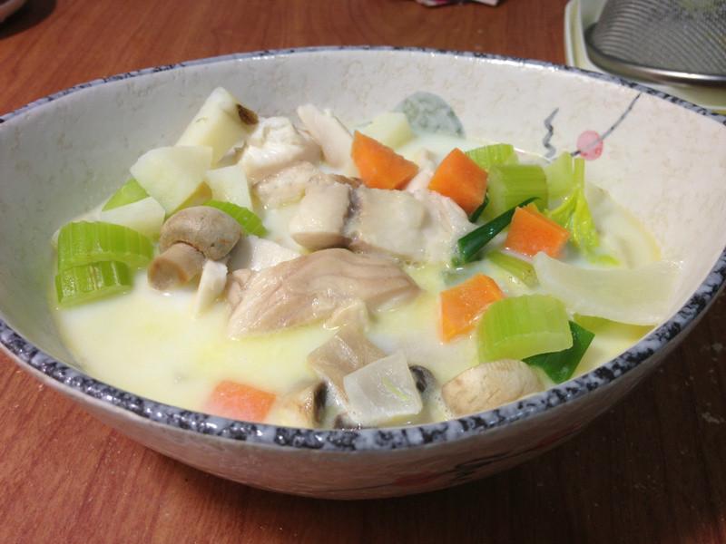鯛魚蔬菜濃湯