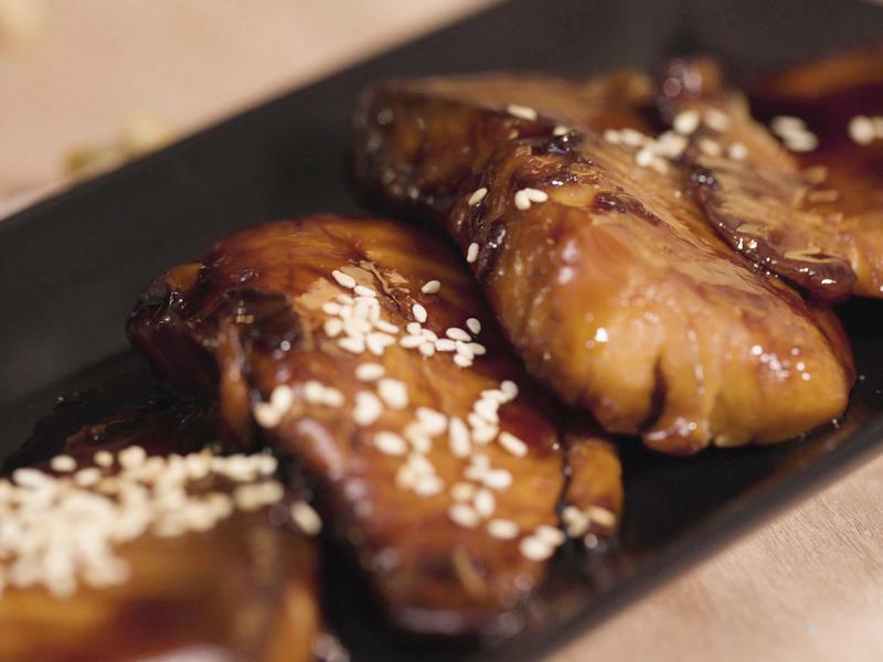 蒲燒鯛魚排