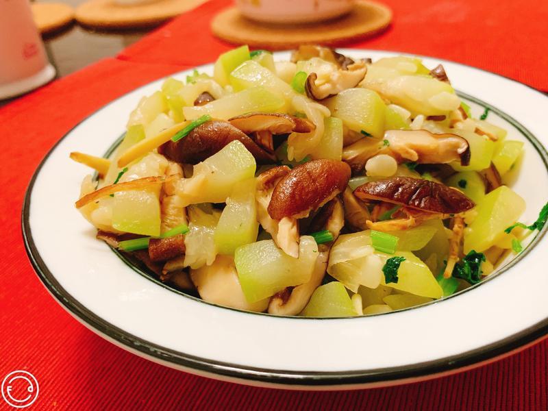 香菇炒瓠瓜