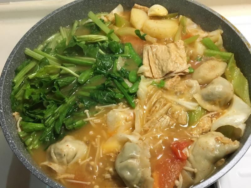 蔬菜味增湯
