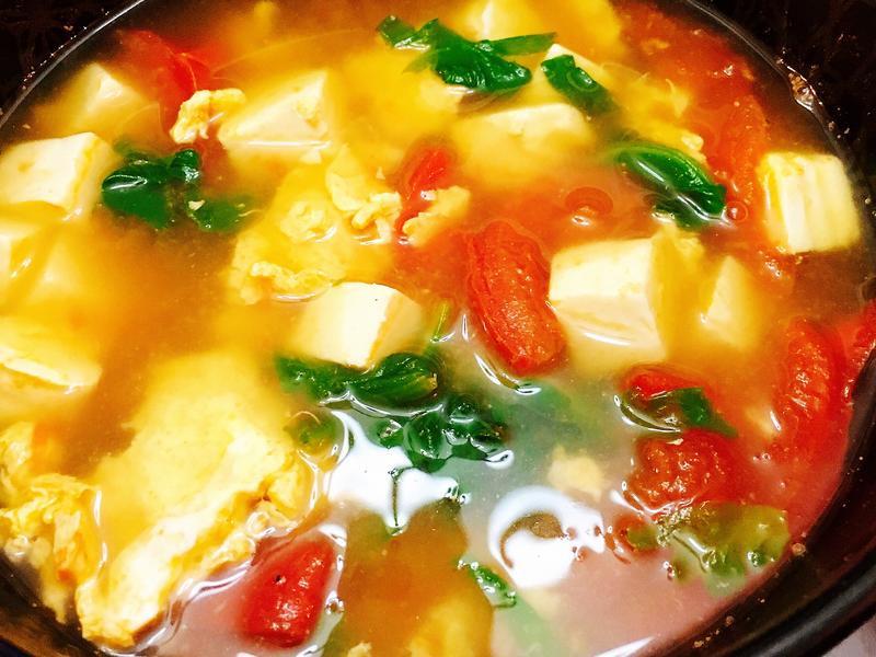蕃茄蛋花湯(減醣版)