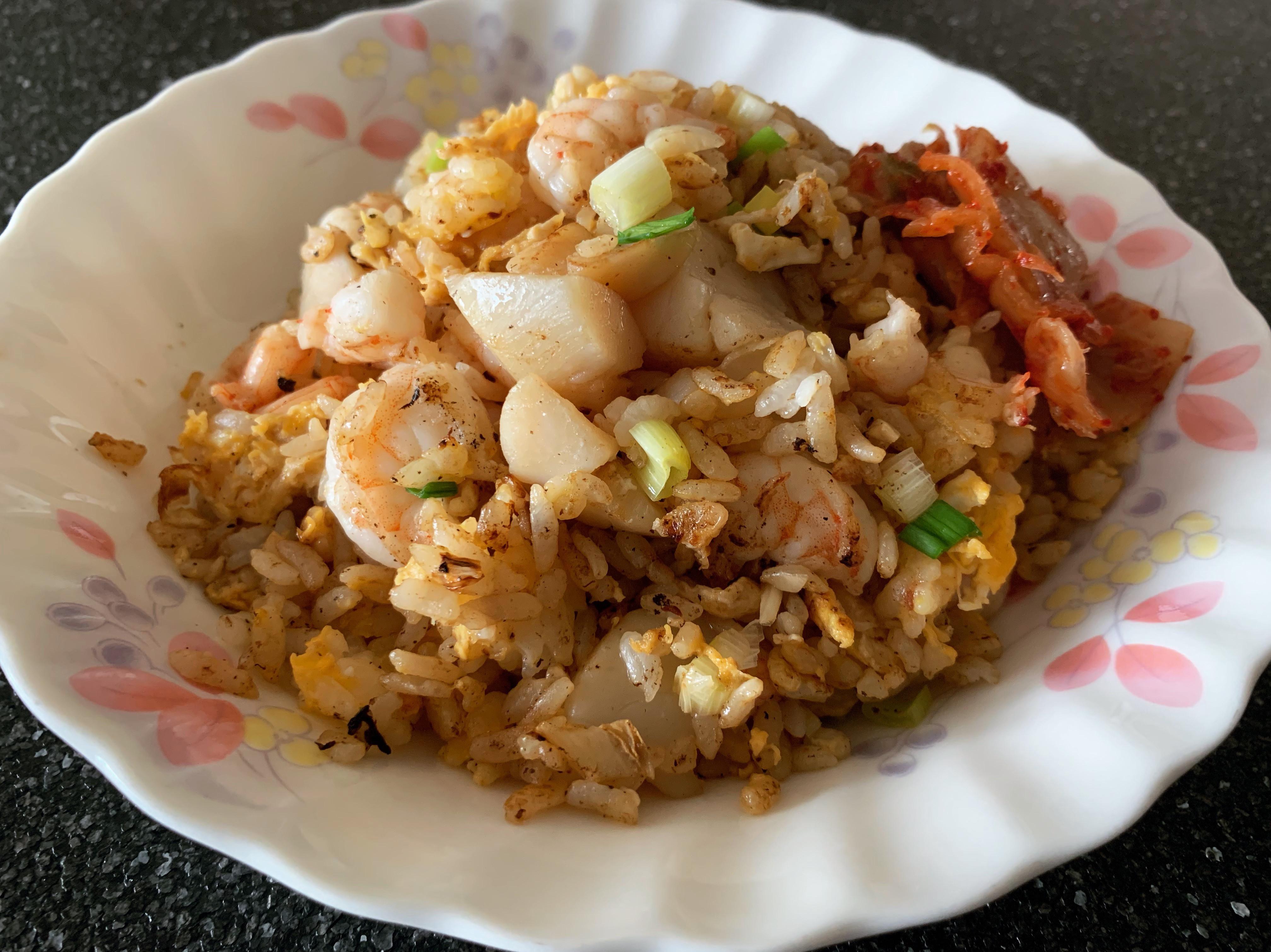 干貝蝦仁蛋炒飯