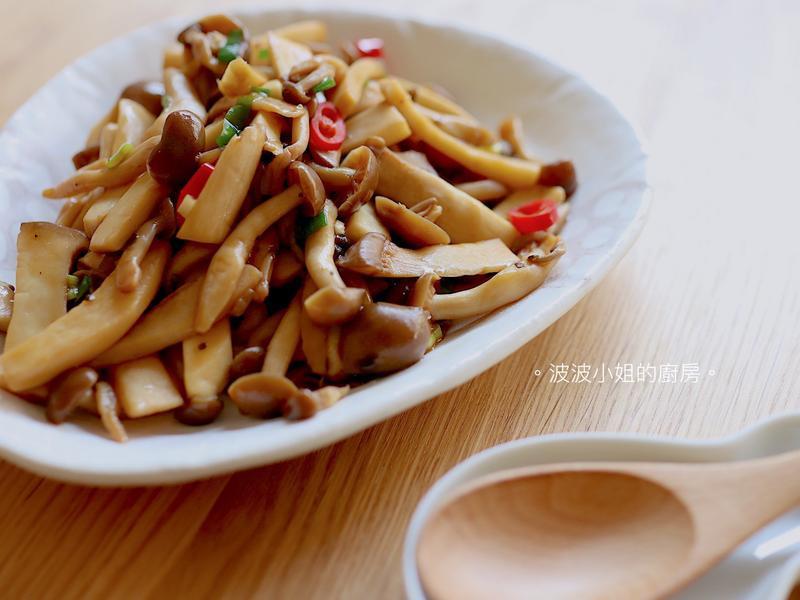 奶油醬燒鮮菇