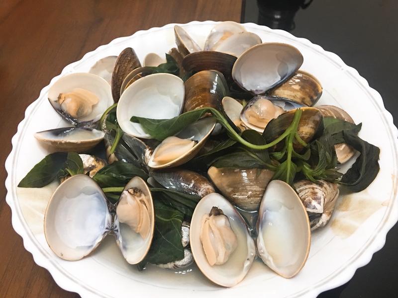 清蒸香茅蛤蜊