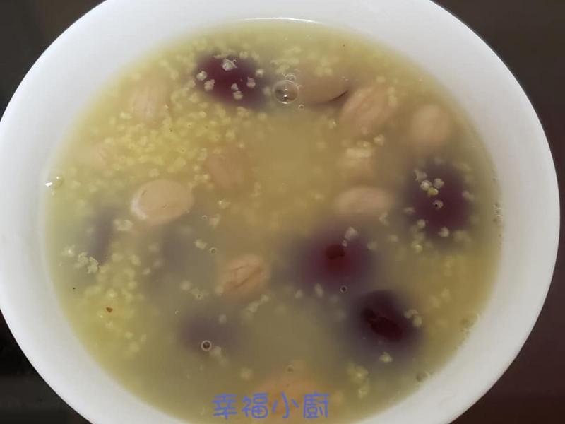 特效補血 女人恩物 花生紅棗小米粥