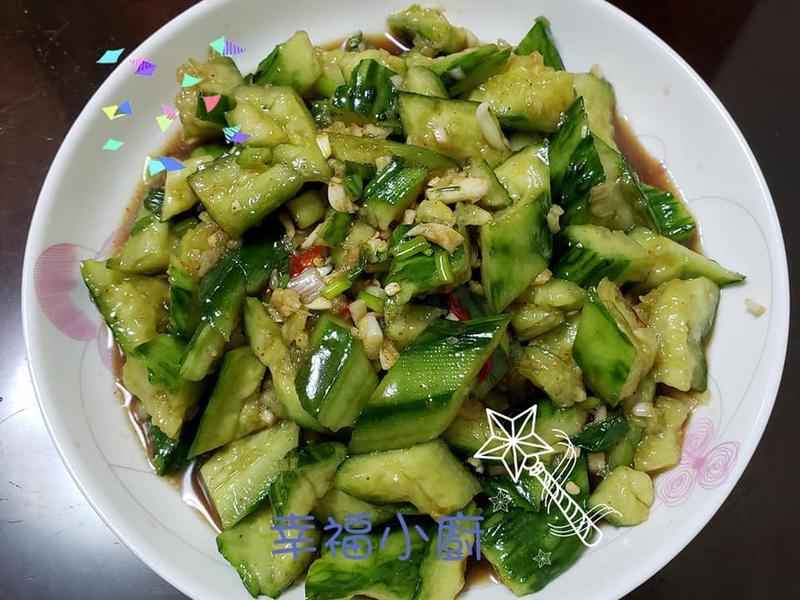 減肥清腸胃之 涼拌青瓜