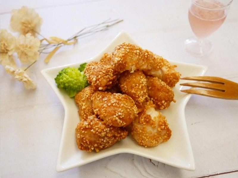 免油炸「日式炸雞」小小孩也能吃 ♪