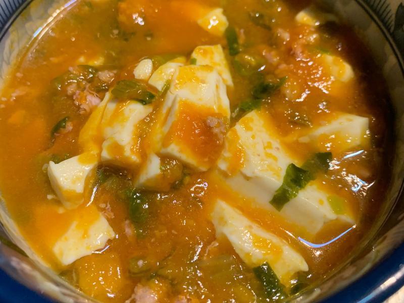 [寶寶版]南瓜豆腐煲