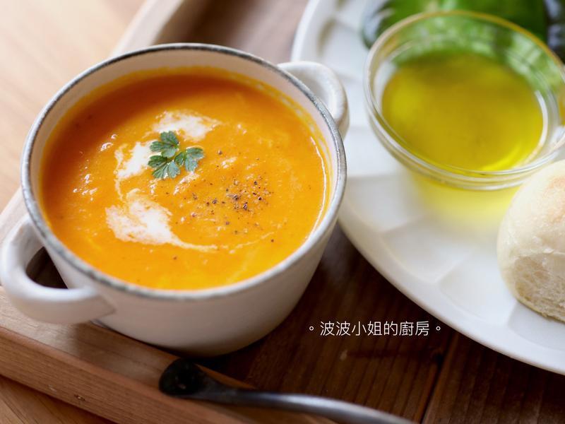 營養滿點 • 🥕胡蘿蔔濃湯