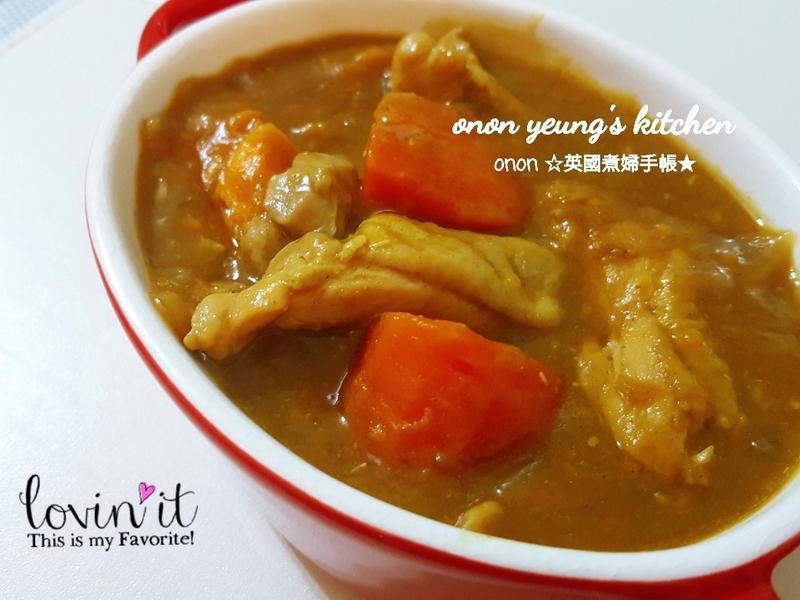 地瓜雞腿肉咖喱🍛 煮出香滑濃郁的小分享