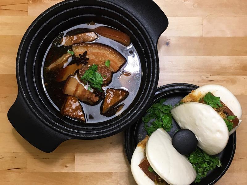傳香滷焢肉+古早味刈包