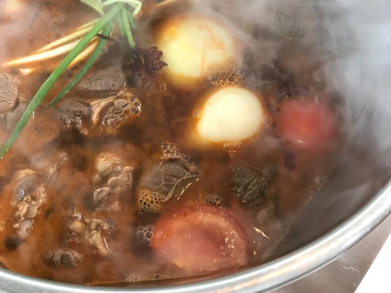 春鼎廚房的呆丸牛肉麵