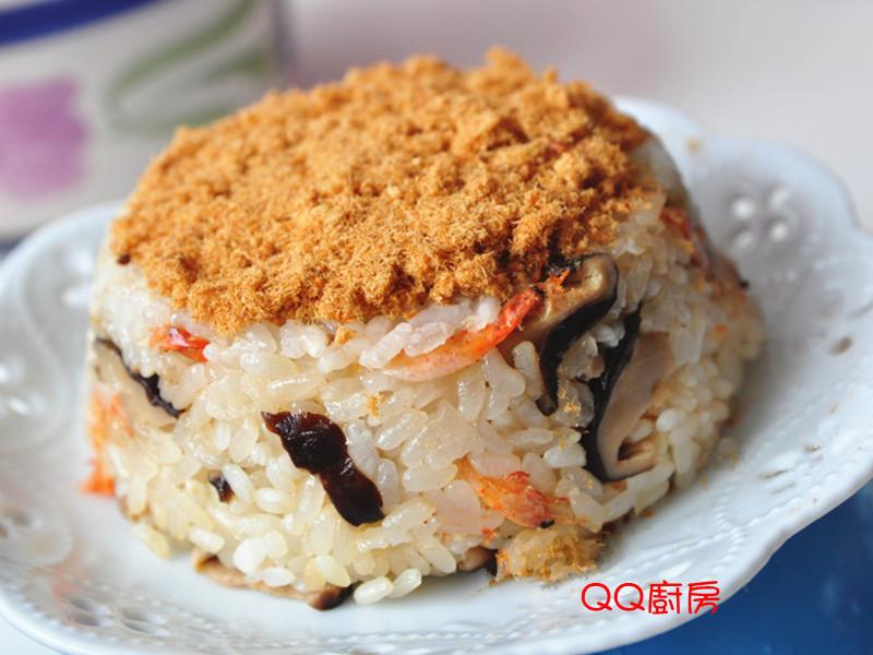 【黃金玄米油清爽料理】香菇櫻花蝦米糕