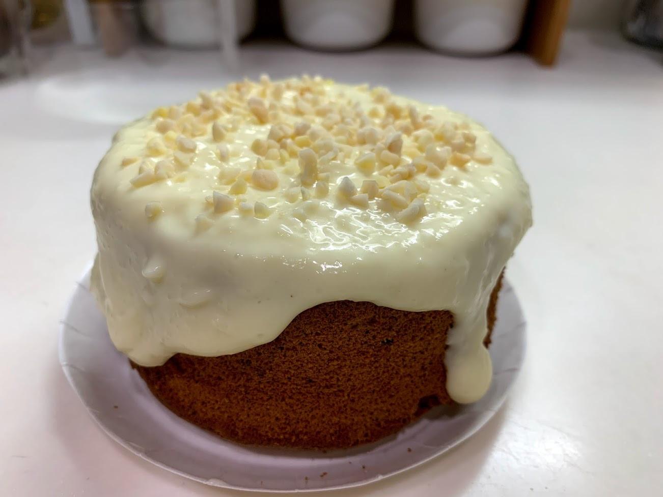 爆漿海鹽奶蓋黑豆糙米蛋糕4吋