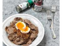 日式熟成黑蒜燒肉醬牛肉飯