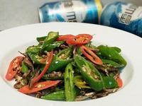 青龍辣椒炒小魚乾~糯米椒下酒菜下飯菜