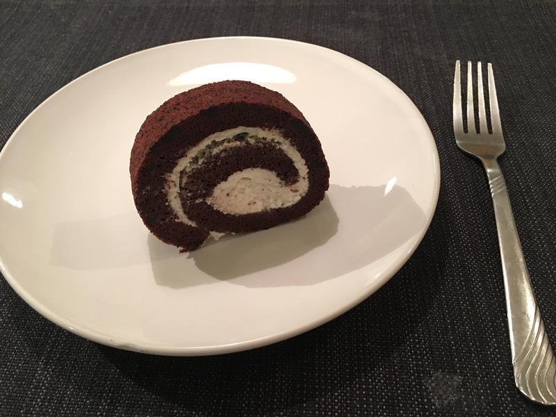 巧克力鮮奶油蛋糕捲