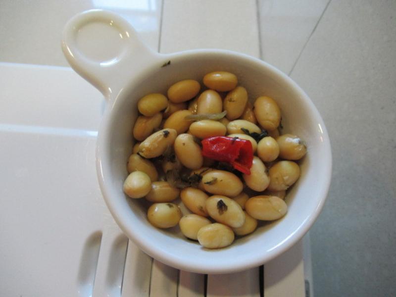 香辣蒸黃豆
